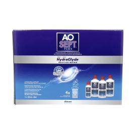 Aosept plus Solution Pour Lentilles Avec HydraGlyde 3 x 360 ml + 90 ml