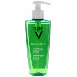 Vichy Normaderm Gel Nettoyant Purifiant Profond 200 ml