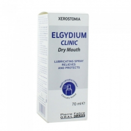 Elgydium Clinic Bouche Sèche Spray 70 ml