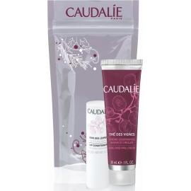 Caudalie Duo Hiver Crème Mains & Ongles Thé des Vignes 30ml + Soin des lèvres 4,5 g