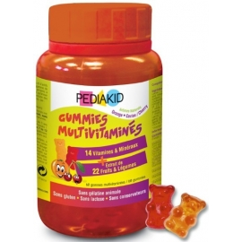 Pediakid Gummies Multivitaminés x 60