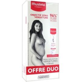 Mustela Maternité Crème Prévention Vergetures Lot de 2 x 150 ml