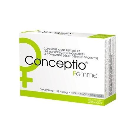 Conceptio Femme 30 Capsules et 30 Gélules