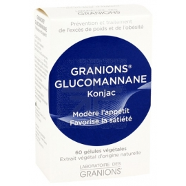 Granions Glucomannane Konjac 60 gélules