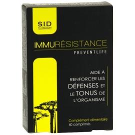 S.I.D Nutrition Preventlife Immurésistance 40 Comprimés