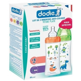 Dodie Biberon Sensation+ 330 ml x 2