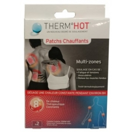 Therm°Hot Patchs Chauffants Multi-Zones x 2