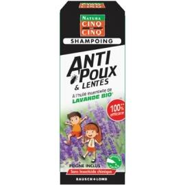 Cinq sur Cinq Natura Shampoing Anti-Poux & Lentes Bio 100 ml