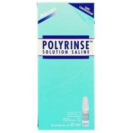 Polyrinse Solution Saline Pour Lentilles 30 x 15 ml