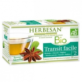 Herbesan Infusion Bio Transit Facile 20 Sachets