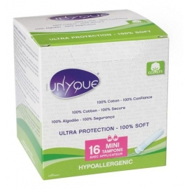 Unyque Tampons Mini Avec Applicateur x 16
