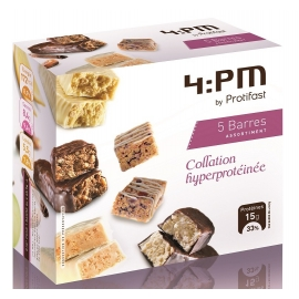 Protifast 4:Pm Barres Hyperprotéinées Assortiment x 5