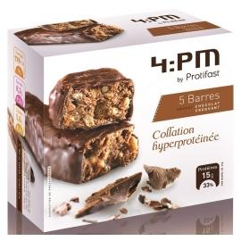 Protifast 4:Pm Barres Hyperprotéinées Chocolat Croquant x 5
