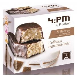 Protifast 4:Pm Barres Hyperprotéinées Noix de Coco x 5