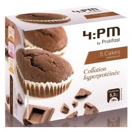 Protifast 4:Pm Cakes Chocolat x 5