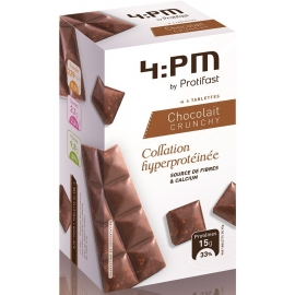 Protifast 4:Pm Tablettes Crunchy Chocolait x 4