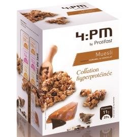 Protifast 4:pm Muesli Chocolat Caramel Sachets x 5