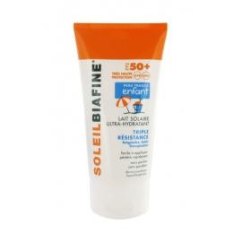 SoleilBiafine Enfant SPF 50 Lait Solaire Ultra-Hydratant 150 ml