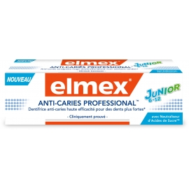 Elmex Dentifrice Anti-Caries Professional Junior 75 ml