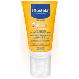 Mustela Bébé Solaire Lait Très Haute Protection Spécial Visage SPF50+ 40 ml