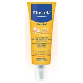 Mustela Bébé Solaire Spray solaire SPF50+ 200 ml