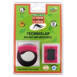 Cinq sur Cinq Natura Technislap Bracelet Anti-moustiques Rose