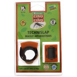 Cinq sur Cinq Natura Technislap Bracelet Anti-moustiques Orange