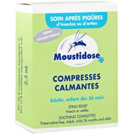 Moustidose Compresses Calmantes x 8
