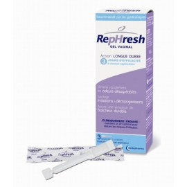 RepHresh Gel Vaginal 3 applicateurs Unidoses