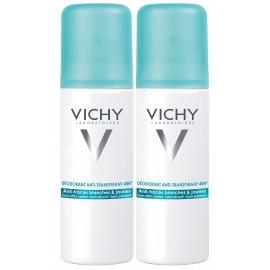 Vichy Déodorant Anti-Transpirant 48H Anti-Traces Aérosol 2 x 125 ml