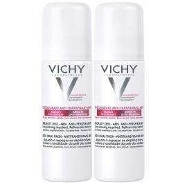 Vichy Déodorant Anti-Transpirant 48H Anti-repousse Aérosol 2 x 125 ml