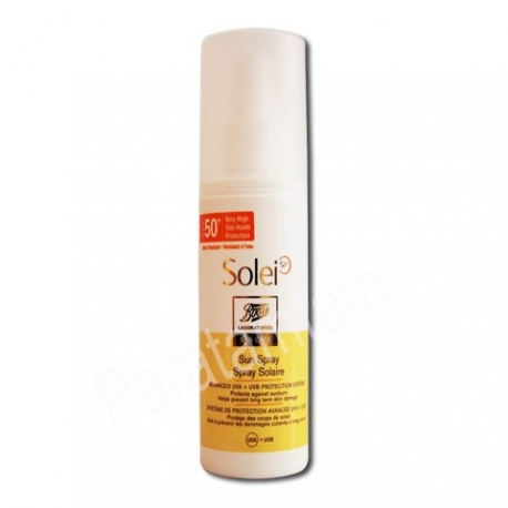 BOOTS SOLEIL SPRAY SOLAIRE SPF 50+ 150 ml