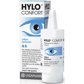 Hylo confort Collyre Hydratant 10 ml