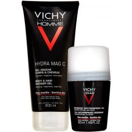 Vichy Homme Gel douche 200 ml + Déodorant 50 ml