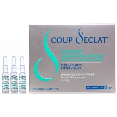 Coup d'Eclat Concentré Energétique Anti-âge Ampoules 1 ml x 12