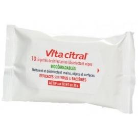 Vita Citral Lingettes Désinfectantes x 10