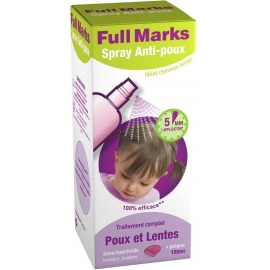 Full Marks Spray Anti-poux 150 ml