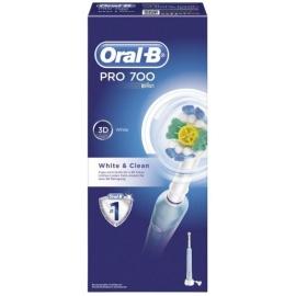 Oral-B Pro 700 Brosse à Dents Electrique White & Clean