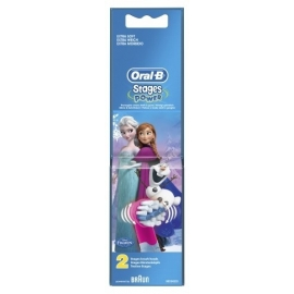 Oral-B Stages Power Brossette Rechange Reine Des Neige x 2