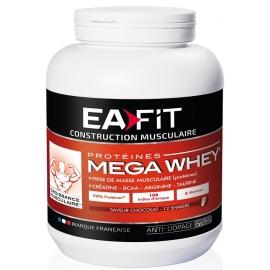 Eafit Construction Musculaire Mega Whey goût chocolat 750 g