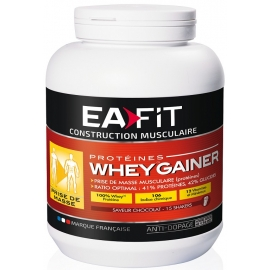 Eafit Construction Musculaire Whey Gainer Chocolat 750 G