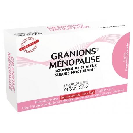 Granions Ménopause 28 gélules