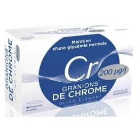 Granions de Chrome 2 x 30 Ampoules