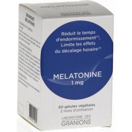 Granions Mélatonine 1 mg 60 Gélules