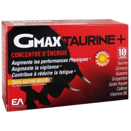 Gmax Taurine 2 x 30 Ampoules