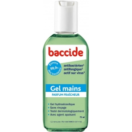 Baccide Gel Mains 75 ML