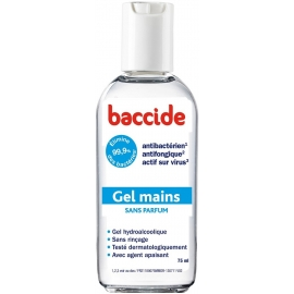 Baccide Gel Mains Sans Parfum 75 ml