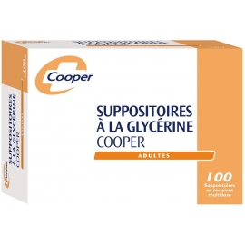 Cooper Suppositoires à la Glycérine x 100
