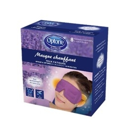 Optone ActiMask Masque Chauffant Yeux Fatigués x 8