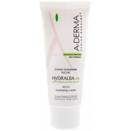 A-Derma Hydralba Crème Hydratante Riche 24h 40 ml